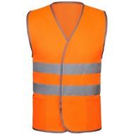 Жилет светоотражающий Reflector, оранжевый неон