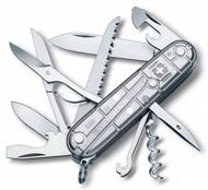 Офицерский нож Huntsman 91, прозрачный серебристый