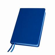 Ежедневник недатированный Softie, А5, синий, кремовый блок, синий обрез