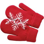 """Варежки """"Сложи снежинку!"""" с теплой подкладкой"""