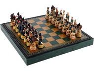 Шахматы «Бородино», зеленый