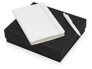 Подарочный набор Moleskine Sherlock с блокнотом А5 и ручкой, белый
