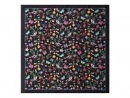 Шелковый платок Butterfly Black