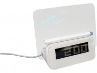 USB Hub на 4 порта с часами и прозрачным экраном для записей маркером