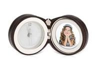 Часы «Большое путешествие», коричневый/серебристый