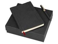 Подарочный набор Bruno Visconti «Marseille»: ежедневник недатирован А5, ручка шариковая, черный