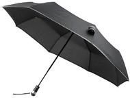 """Автоматический зонт 27"""" со светодиодами, черный"""