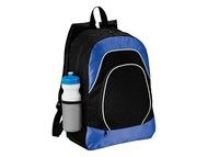 "Рюкзак для планшета ""Branson"", черный/ярко-синий"