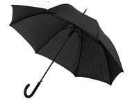 """Зонт-трость Lucy 23"""" полуавтомат, черный/белый"""