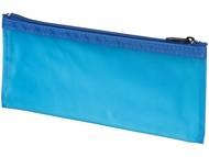 Перламутровый пенал Fabien, прозрачный/синий