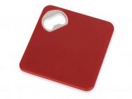 Подставка для кружки с открывалкой «Liso», черный/красный