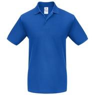 Рубашка поло Heavymill ярко-синяя