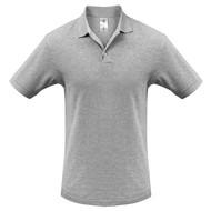 Рубашка поло Heavymill серый меланж