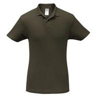 Рубашка поло ID.001 коричневая