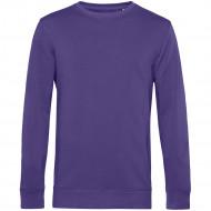 Свитшот унисекс BNC Organic, фиолетовый
