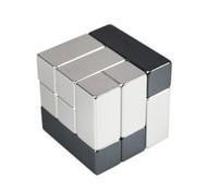 Головоломка-антистресс Cube, малая, хром