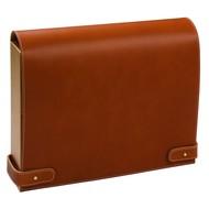 Настольная подставка для бумаг Pinetti, коричневая